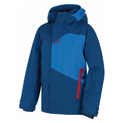 Kurtka narciarska dla dzieci Zort Kids dark.blue Husky