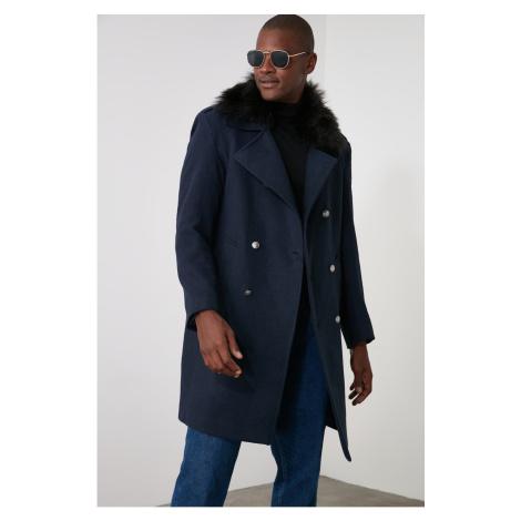 Płaszcz męski Trendyol Detailed