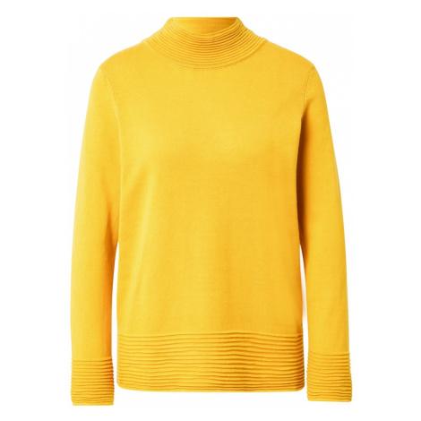 ESPRIT Sweter złoty żółty