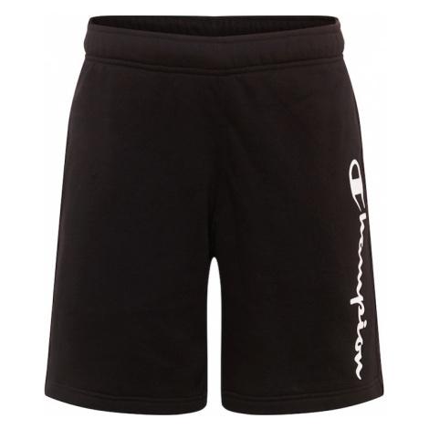 Champion Authentic Athletic Apparel Spodnie czarny / biały
