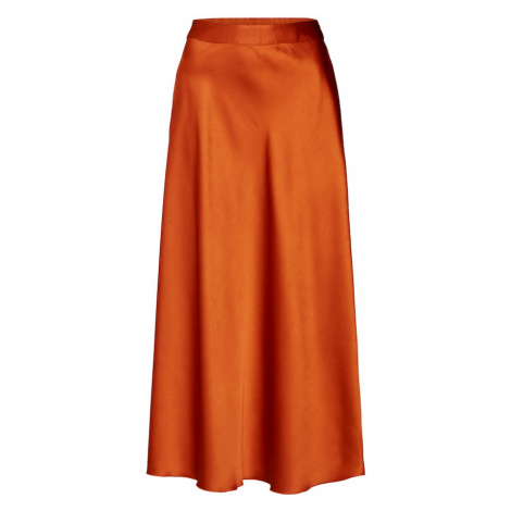 VERO MODA Spódnica pomarańczowy