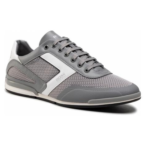 Sneakersy BOSS - Saturn 50445677 10230782 01 Medium Grey 030 Hugo Boss