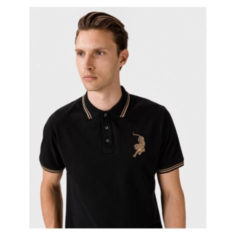 Just Cavalli Polo Koszulka Czarny