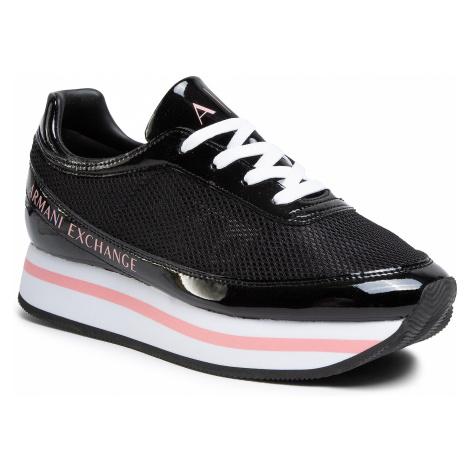 Sneakersy ARMANI EXCHANGE - XDX030 XV314 Bkack 00002