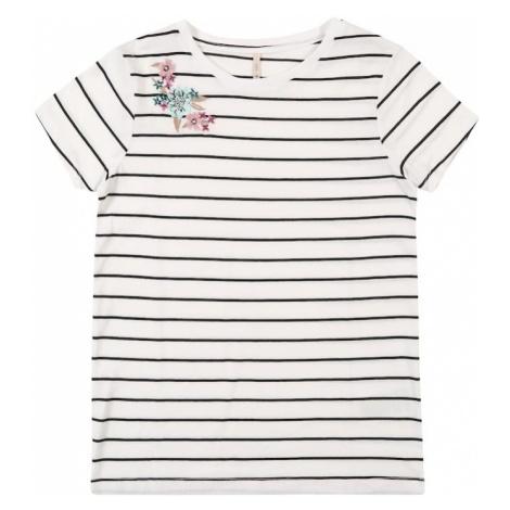KIDS ONLY Koszulka 'EVA' ciemny niebieski / biały