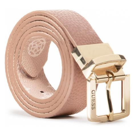 Guess Pasek Damski Uptown Chic Belts BW7383 VIN30 Różowy