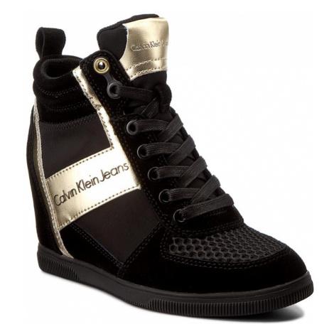 Sneakersy CALVIN KLEIN JEANS - Beth R0648 Black/Gold