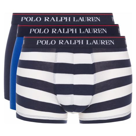 Polo Ralph Lauren 3-pack Bokserki Niebieski Biały