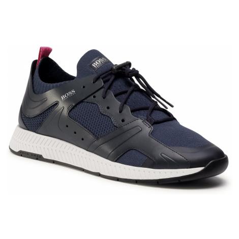 Sneakersy BOSS - Titanium 50432770 10227343 01 Dark Blue 406 Hugo Boss