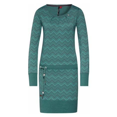 Ragwear Sukienka 'ALEXA ZIG ZAG' zielony
