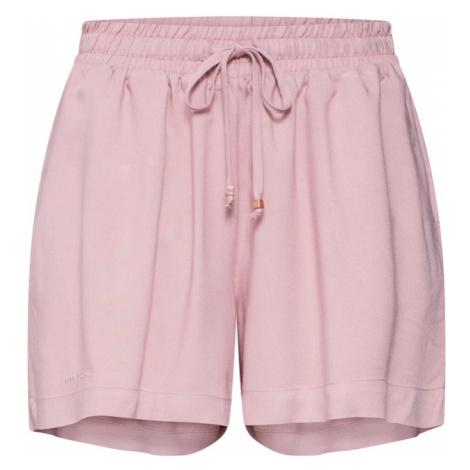Mazine Spodnie 'Palm' różowy pudrowy