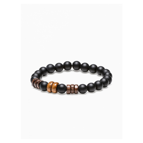 Ombre Clothing Men's bracelet with beads A199