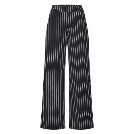 OBJECT Spodnie 'Scarlett' czarny / biały