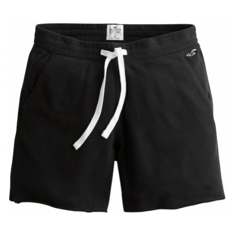 HOLLISTER Spodnie 'Terry' czarny
