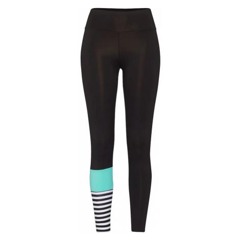 Hey Honey Spodnie sportowe 'Surf Style Turquoise' turkusowy / czarny / biały