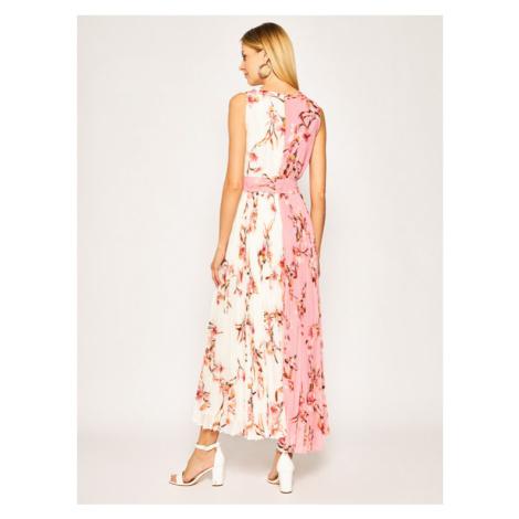 Marella Sukienka wieczorowa Formula 32215001 Różowy Slim Fit