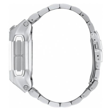 Nixon Zegarek cyfrowy 'Regulus SS' czarny / srebrny