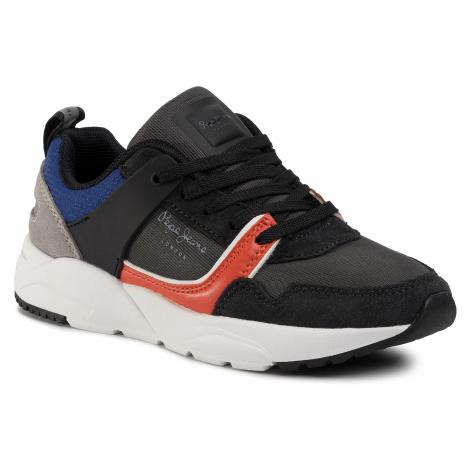 Sneakersy PEPE JEANS - David Combi PBS30417 Black 999