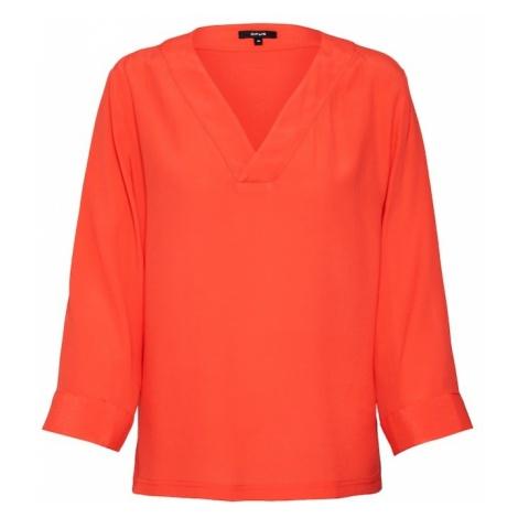 OPUS Bluzka 'Fenile' pomarańczowo-czerwony