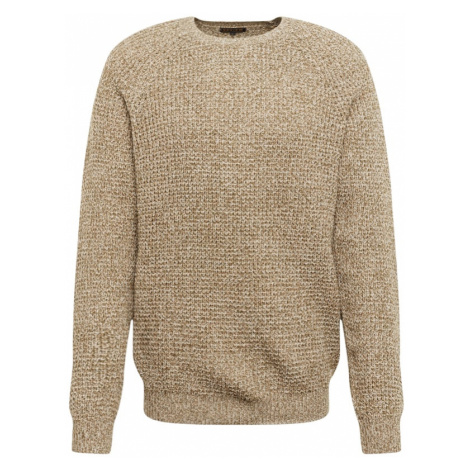 Review Sweter 'MULTICOLOR KNIT' beżowy / oliwkowy / offwhite