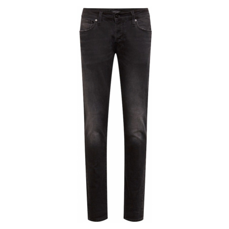 JACK & JONES Jeansy czarny denim