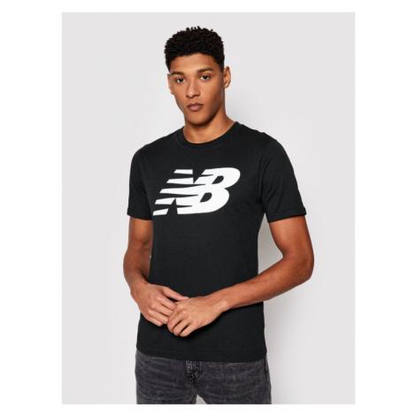 New Balance T-Shirt MT03919 Czarny Regular Fit