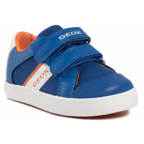 Sneakersy GEOX - B Gisli B. B B021NB 01054 C0685 M Royal/Orange
