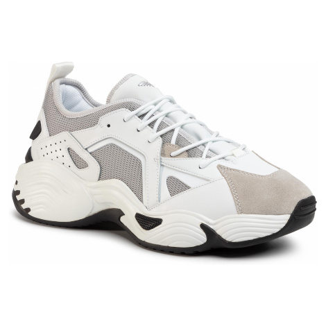 Sneakersy EMPORIO ARMANI - X4X286 XM243 P972 Plaster/Opt White