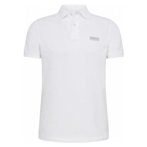 Barbour International Koszulka 'B. Intl International Essentuial' biały