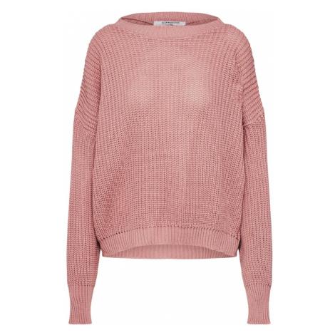GLAMOROUS Sweter różowy pudrowy