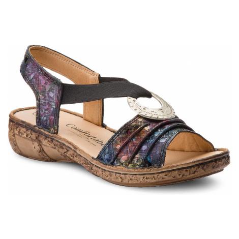 Sandały COMFORTABEL - 710890 Schwarz 1