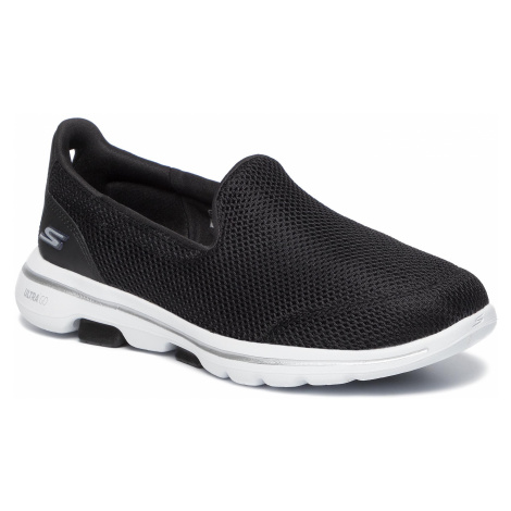 Półbuty SKECHERS - Go Walk 5 15901/BKW Black/White