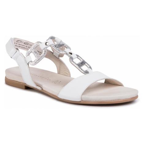 Sandały TAMARIS - 1-28163-24 White/Silver 191