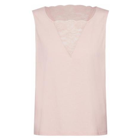 VILA Top 'Vilanna' różowy pudrowy