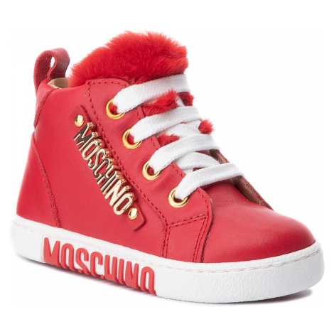 Sneakersy MOSCHINO - 26217 M Rosso