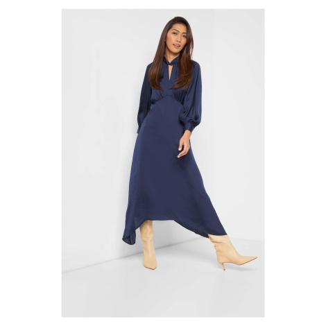 Sukienka z bufiastymi rękawami Orsay
