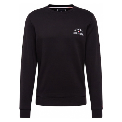 TOMMY HILFIGER Bluzka sportowa 'Basic Embroidered' czarny
