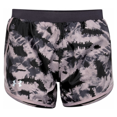 Spodenki Under Armour W UA Fly By 2.0 Printed Short-PPL