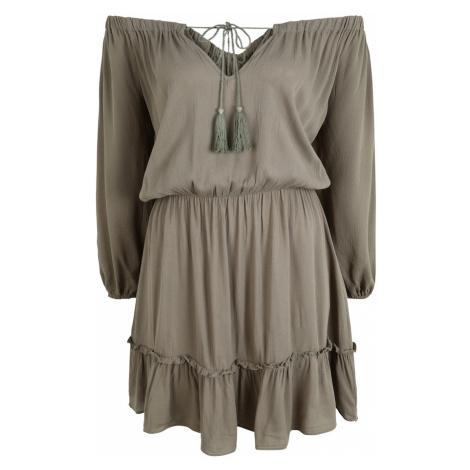 Missguided (Petite) Sukienka zielony