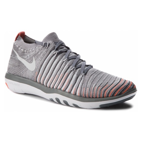 Buty NIKE - Free Transform Flyknit 833410 006 Cool Grey/Pure Platinum