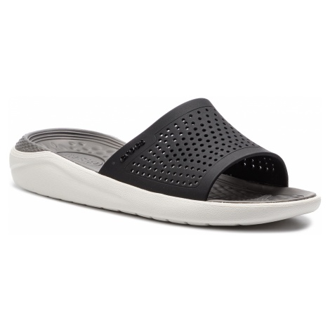 Klapki CROCS - Literide Slide 205183 Black/Smoke