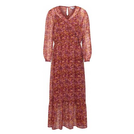 SAINT TROPEZ Letnia sukienka rdzawoczerwony