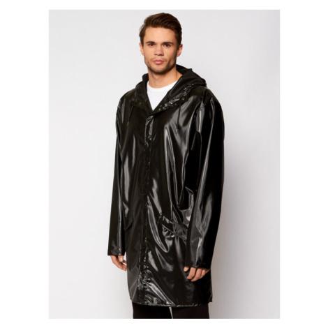 Rains Kurtka przeciwdeszczowa Unisex 1202 Czarny Regular Fit