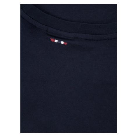Napapijri Bluzka K Soli Ls Sum NP0A4E541761 S Granatowy Regular Fit