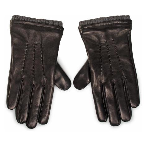 Rękawiczki Męskie GINO ROSSI - AR0187-000-OGDZ-9985-T Czarny