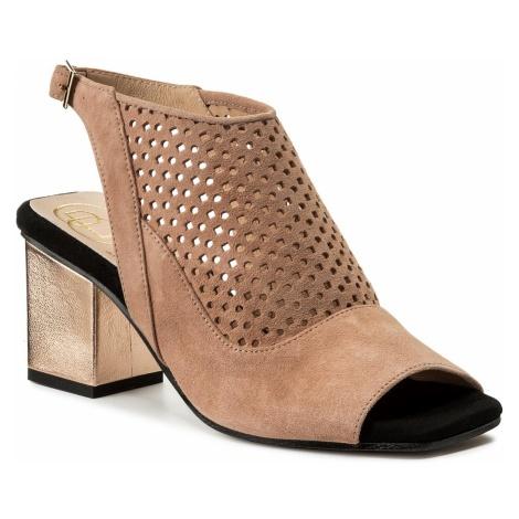 Sandały BALDOWSKI - W00354-3024-001 Zamsz Nude