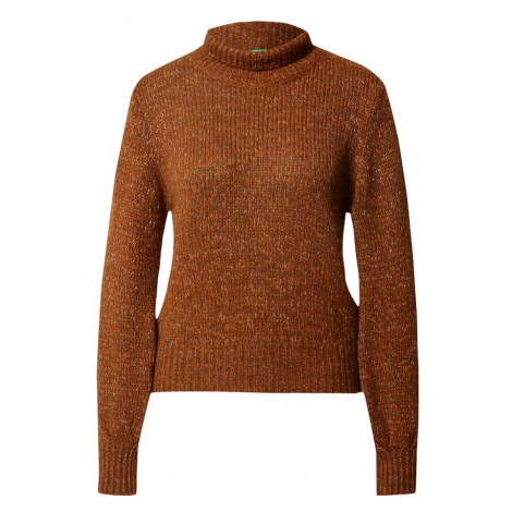 UNITED COLORS OF BENETTON Sweter brązowy