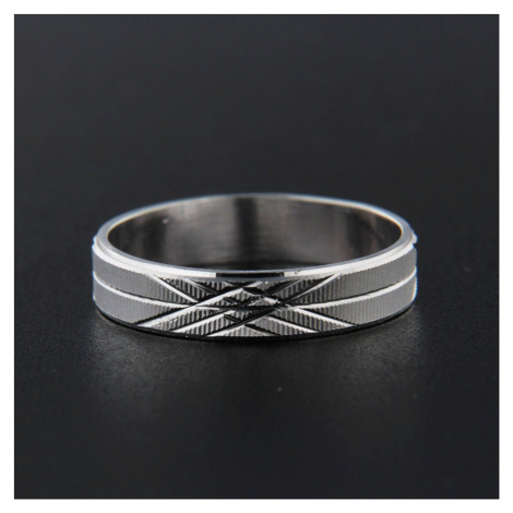 Pierścionek srebrny 13836