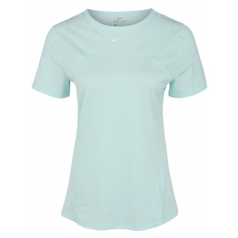 NIKE Koszulka funkcyjna 'W NP TOP SS ALL OVER MESH' jasnoniebieski