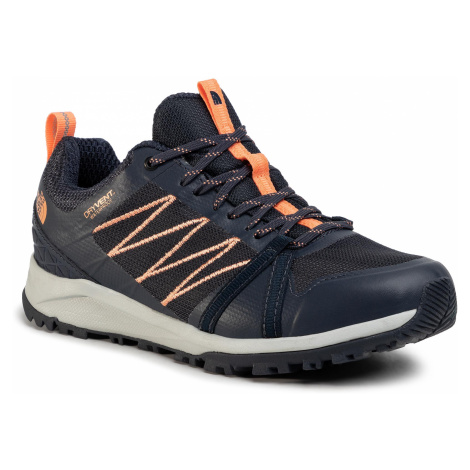 Trekkingi THE NORTH FACE - Litewave Fastpack II Wp NF0A4PF4MZ61 Urban Navy/Cantaloupe